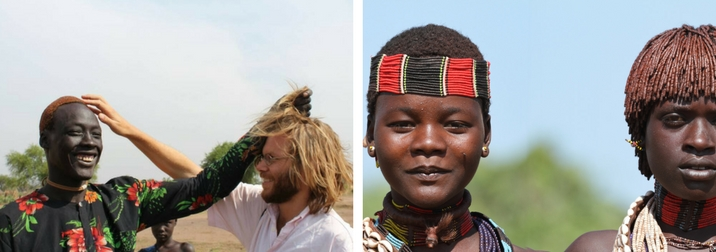 Etiopia aventura:  Acampada con tribus en el Valle del Omo