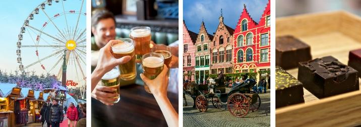 Fin de año Singles: Placeres de invierno en Flandes
