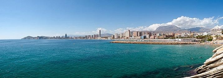 Puente en la costa de Alicante