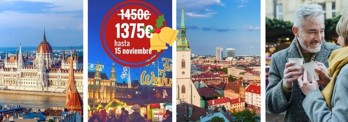 Puente de Diciembre: Crucero fluvial Mercados Navideños del Danubio
