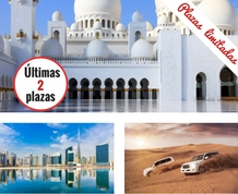 Puente de Diciembre: Abu Dhabi y Dubai ¡Donde todo es posible!