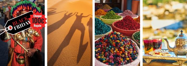 Año nuevo. Deja que la aventura te encuentre. Marrakech y el desierto