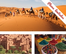 Enero: Marrakech y el desierto: oro, incienso y mirra