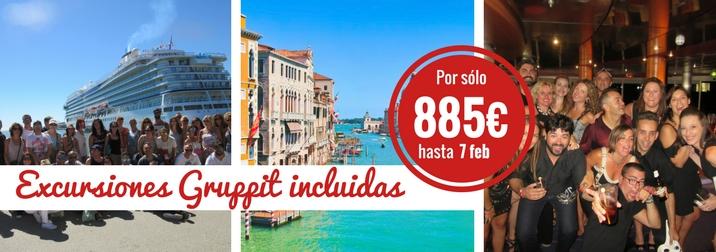 Crucero Adriatico Semana Santa: amigos, diversión y aventura