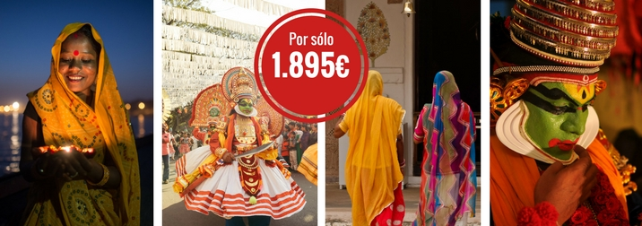 Crucero single Namaste: India y Maldivas