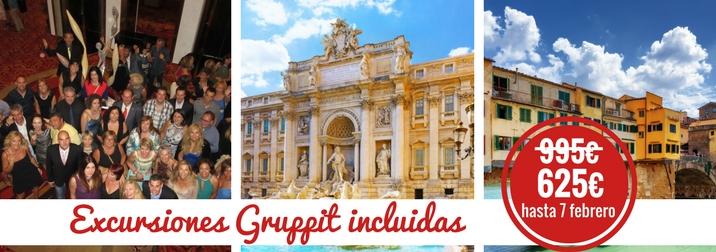 Junio: Crucero por el Mediterráneo ¡Primavera en Italia y francia!