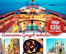 Crucero gastronómico. Sabores del Mediterráneo