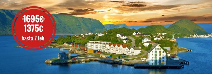 Junio: Crucero por los Fiordos Noruegos