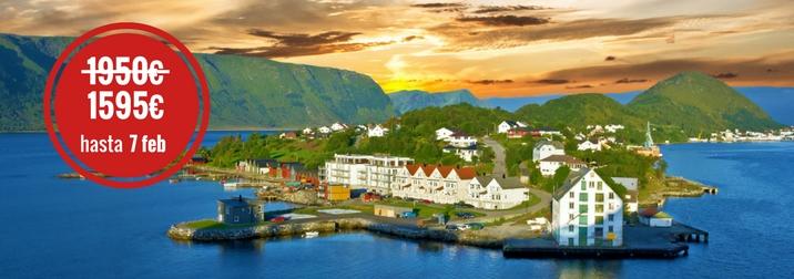 Agosto: Crucero por los Fiordos Noruegos
