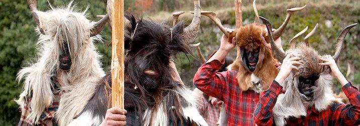 Febrero: Carnaval de Bielsa