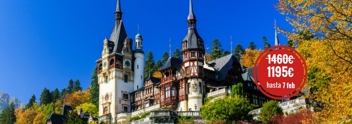 Agosto: La Ruta del Conde Drácula. Transilvania y los Cárpatos
