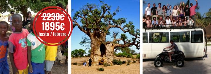 Agosto en Senegal y Mauritania. Contrastes africanos