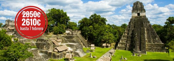 Agosto en Guatemala. El corazón del Mundo Maya