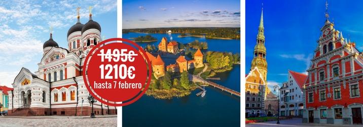 Agosto: Repúblicas Bálticas, parques, palacios y ciudades