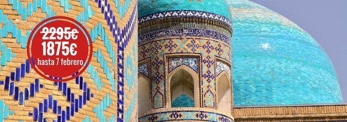 Agosto: El camino de Samarkanda. Ruta de la Seda