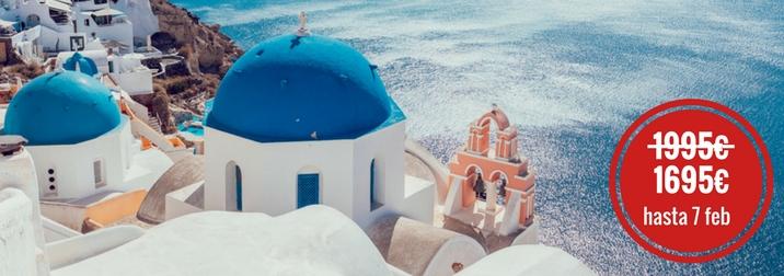 Agosto: Crucero Idílico Islas del Egeo. Regálate un merecido premio