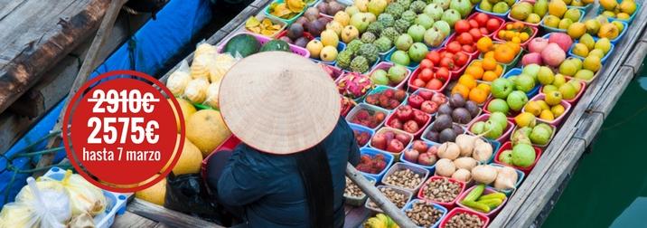 Agosto en Vietnam de Norte a Sur