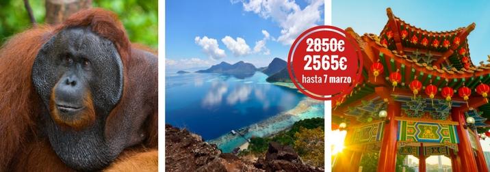 Agosto: Malasia & Isla del Borneo