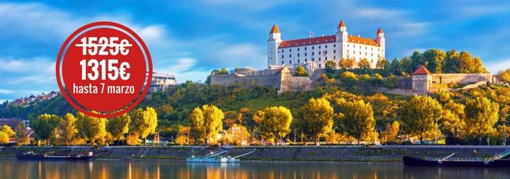 Julio en Eslovaquia. El corazón verde de Europa