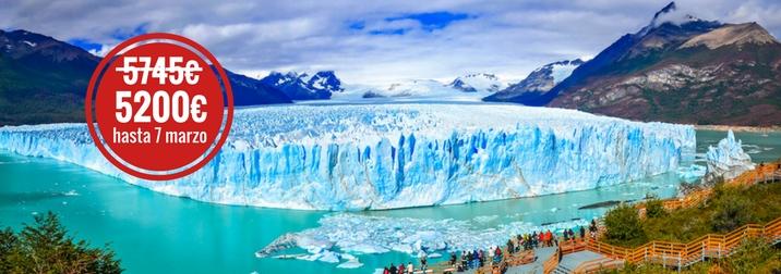 Octubre. Especial crucero por la Patagonia Argentina y Chilena