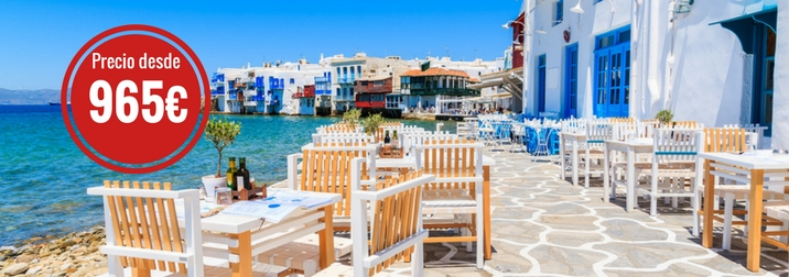 Crucero por las Islas Griegas. ¡Nuevo recorrido!