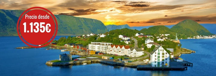 Junio: Espectacular Crucero por los Fiordos Noruegos en el COSTA FAVOLOSA