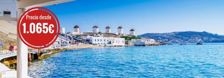 Julio: Crucero por las Islas Griegas