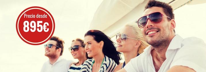 Agosto: Crucero Mediterraneo jóvenes de 25 a 39 años