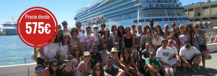 Septiembre: Crucero por el Mediterráneo