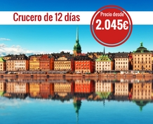 Julio: Crucero 12 días por el Norte de Europa