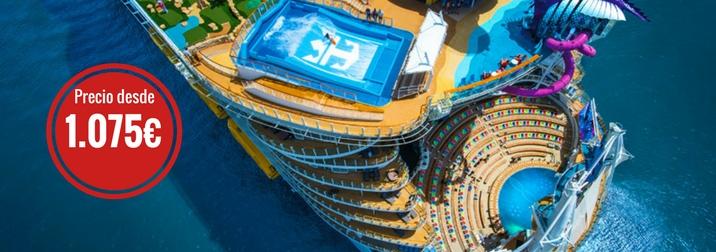 Septiembre: Crucero VIP. El Mediterráneo como nunca lo habías visto. Grupo: más de 50 años