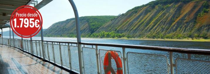 Julio Crucero Fluvial por el Volga. Especial Seniors