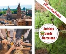 Puente de Mayo en Zaragoza y  Monasterio de Piedra