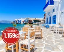 Junio: Crucero por las Islas Griegas. ¡Nuevo recorrido!