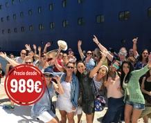 Agosto: Crucero por Mediterráneo. Vacaciones en el mar