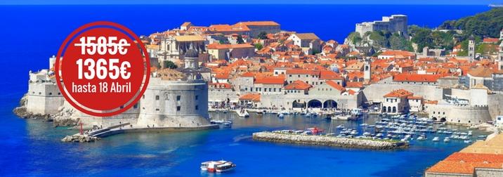 Agosto en Croacia. Grupo recomendado hasta 49 años