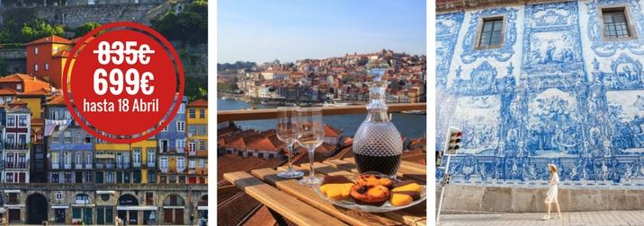 Puente de Mayo en Oporto: entre vinos y amigos