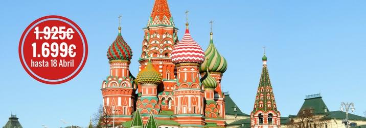 Julio en Rusia: Tierra de palacios y Zares