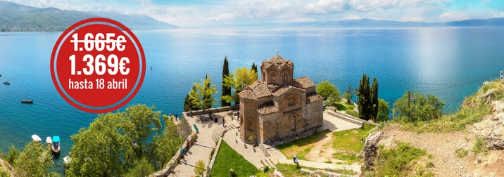 Septiembre: Ruta Balcánica: Albania, Macedonia, Kosovo y Montenegro