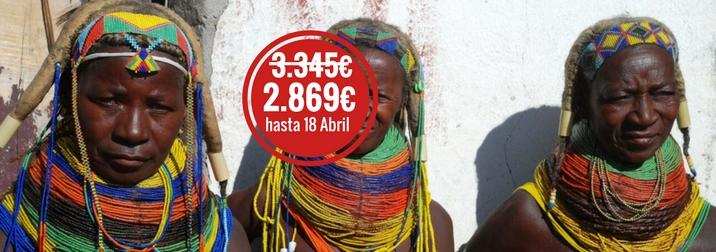 Agosto en Angola: tribus, naturaleza y arquitectura colonial