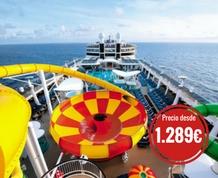 Julio: Crucero por el Mediterráneo a bordo del Epic