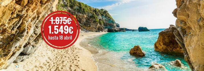 Blue Islands: La Sensual isla de Corfú