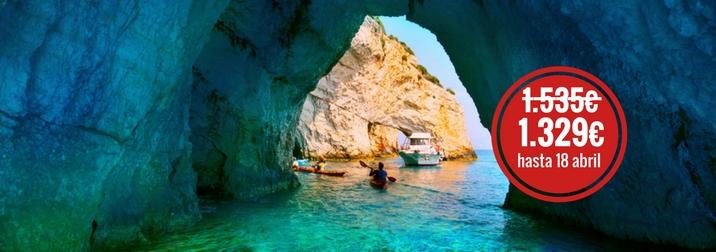 Blue Islands: Septiembre en la Isla Griega de Zante