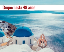 Agosto: Crucero Idílico Egeo II. Grupo recomendado hasta 49 años