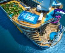 Crucero VIP. El Mediterráneo a bordo del Symphony of the seas