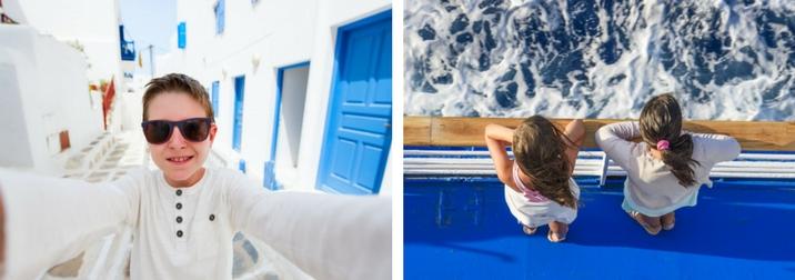 Agosto: Crucero por las Islas Griegas con niños y adolescentes II