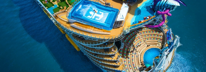 Septiembre: Crucero VIP. El Mediterráneo a bordo del Symphony of the seas