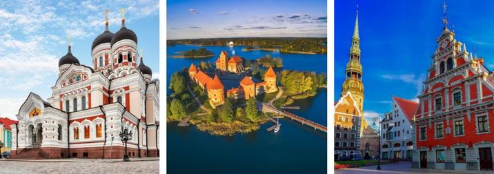 Agosto: Repúblicas Bálticas: Letonia, Estonia, Lituania
