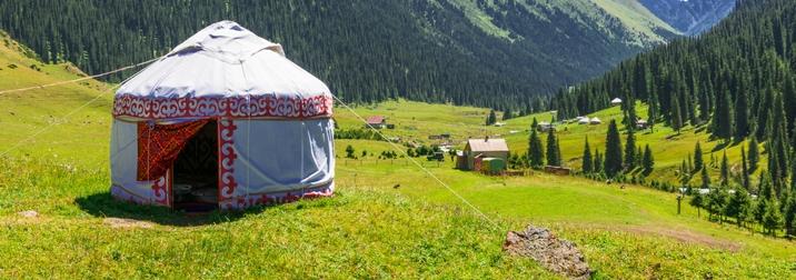 Agosto: Ruta de la seda. Kirguistán I