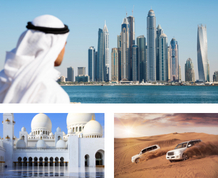 Crucero de Fin de Año por los Emiratos Árabes. Las Mil y una Noches